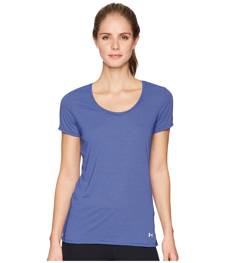 Under Armour - Streaker Short Sleeve Tee (Formation Blue/Oxford Blue/Reflective) Womens Short Sleeve Pullover
