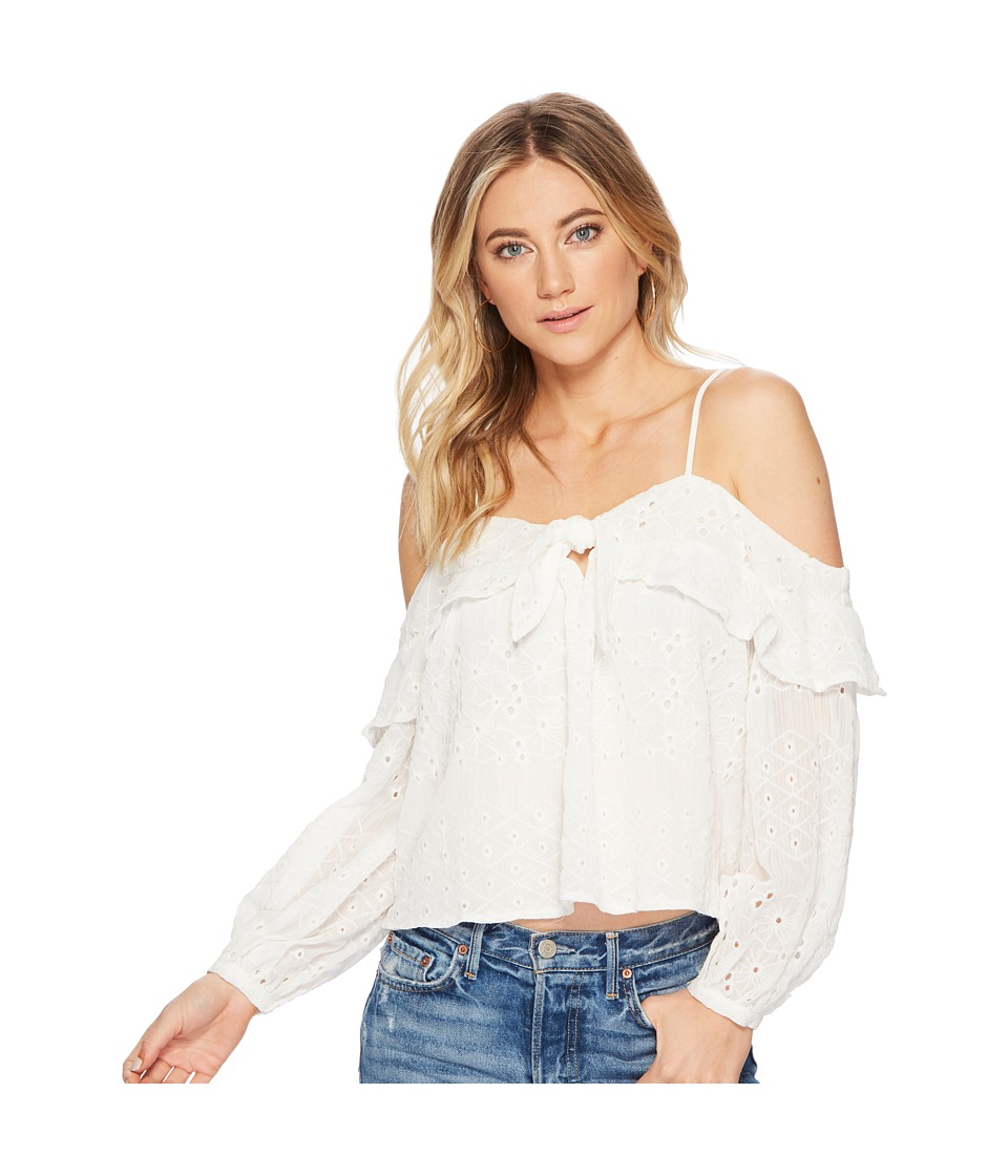 ASTR the Label - Kimberly Top (Ivory) Womens Clothing