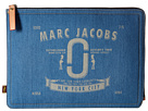 Marc Jacobs Denim Tech 13 Computer Case