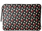 Marc Jacobs Popcorn Scream Printed Coated Canvas Tech 13 Computer Case