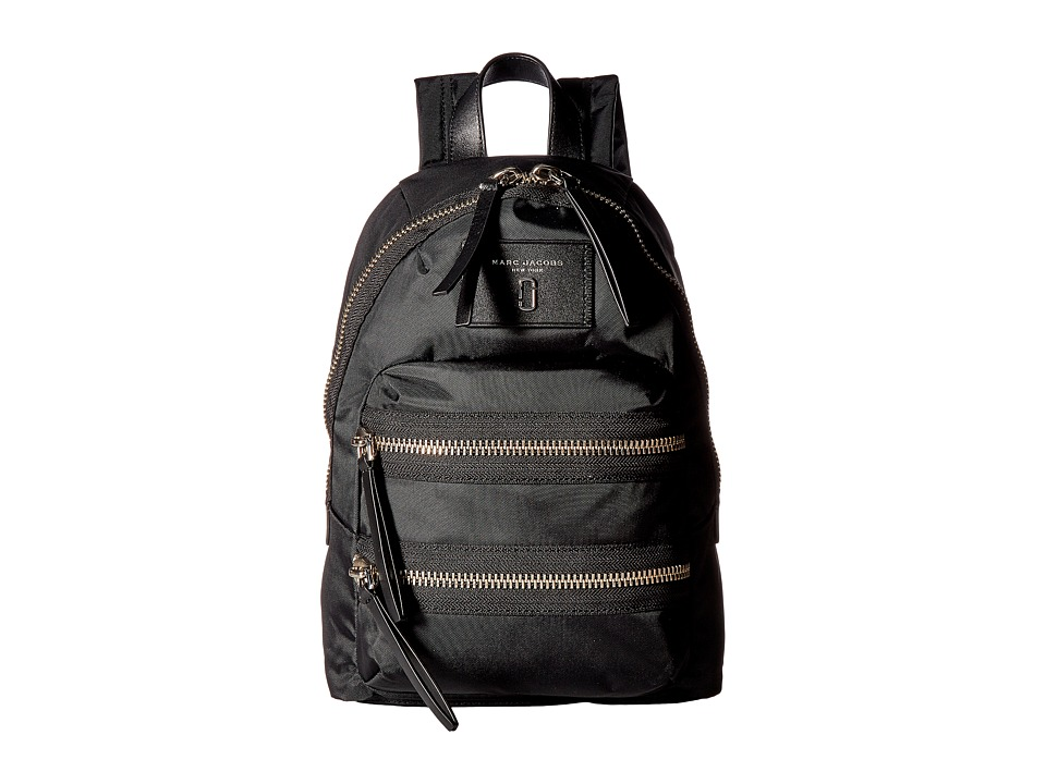 Marc Jacobs - Nylon Biker Mini Backpack (Black 1) Backpack Bags