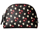 Marc Jacobs Popcorn Scream Printed Coated Canvas Dome Cosmetic