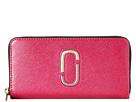 Marc Jacobs Saffiano Double J Standard Continental Wallet