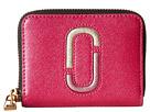Marc Jacobs Saffiano Double J Zip Card Case