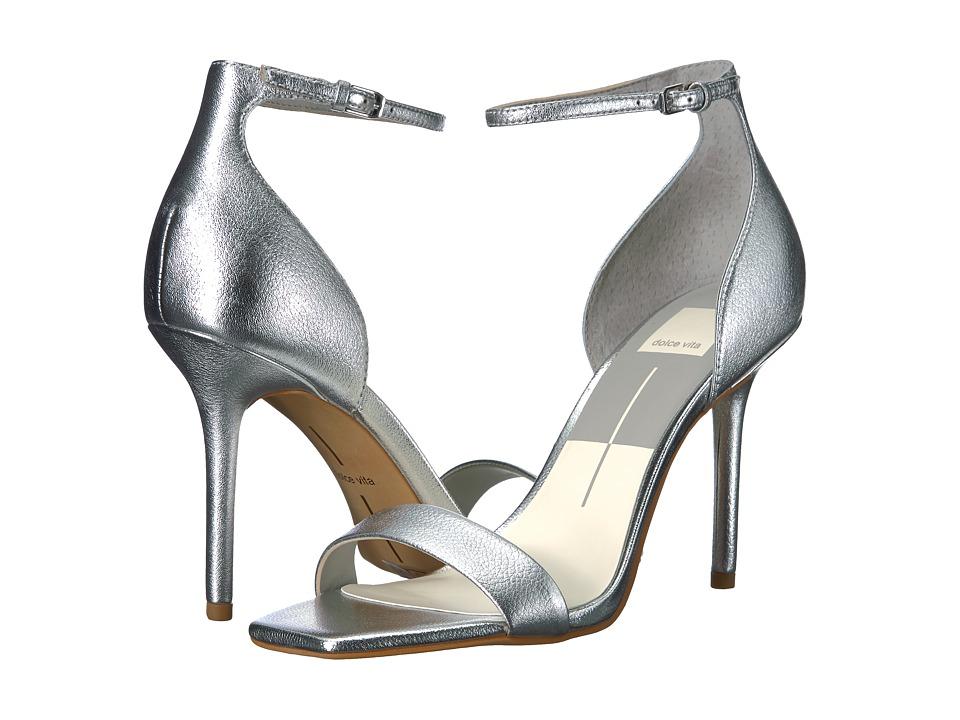 Dolce Vita Halo (Silver Leather) Women