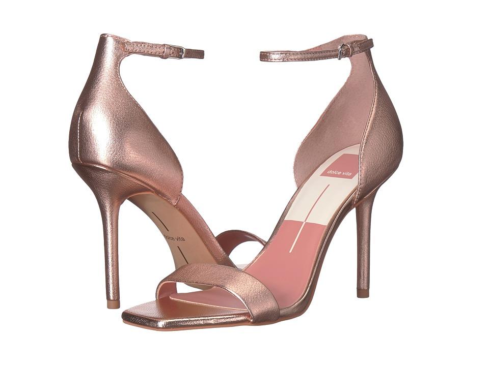 Dolce Vita Halo (Rose Gold Leather) Women