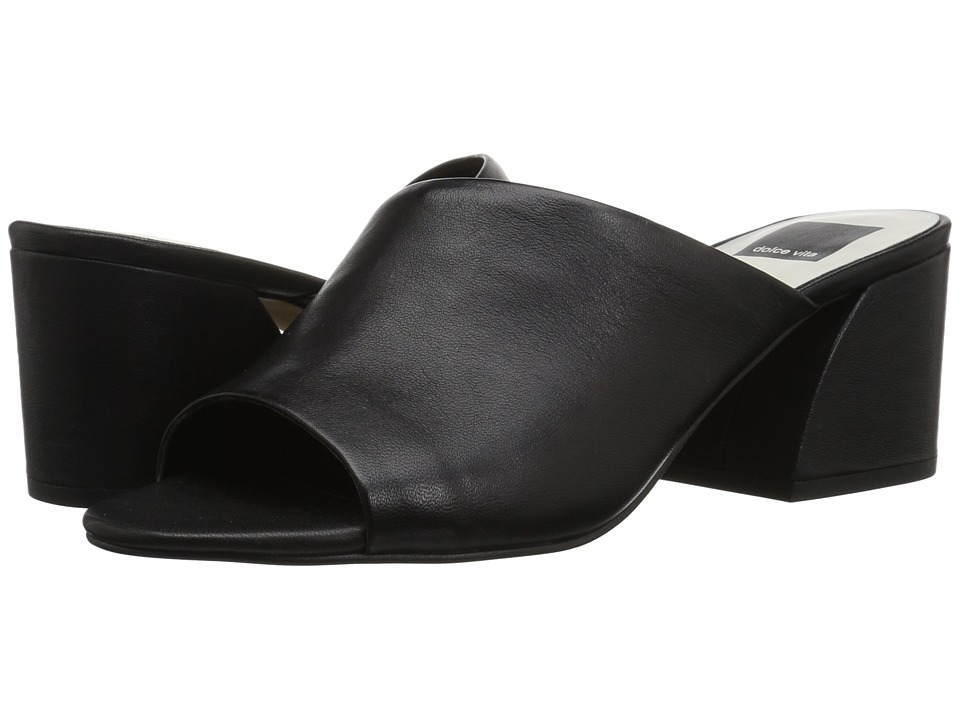 Dolce Vita - Juels (Black Leather) Womens Shoes