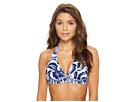 Tommy Bahama Pansy Petals Reversible Halter Bikini Top