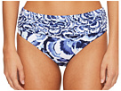Tommy Bahama Pansy Petals High-Waist Sash Bikini Bottom