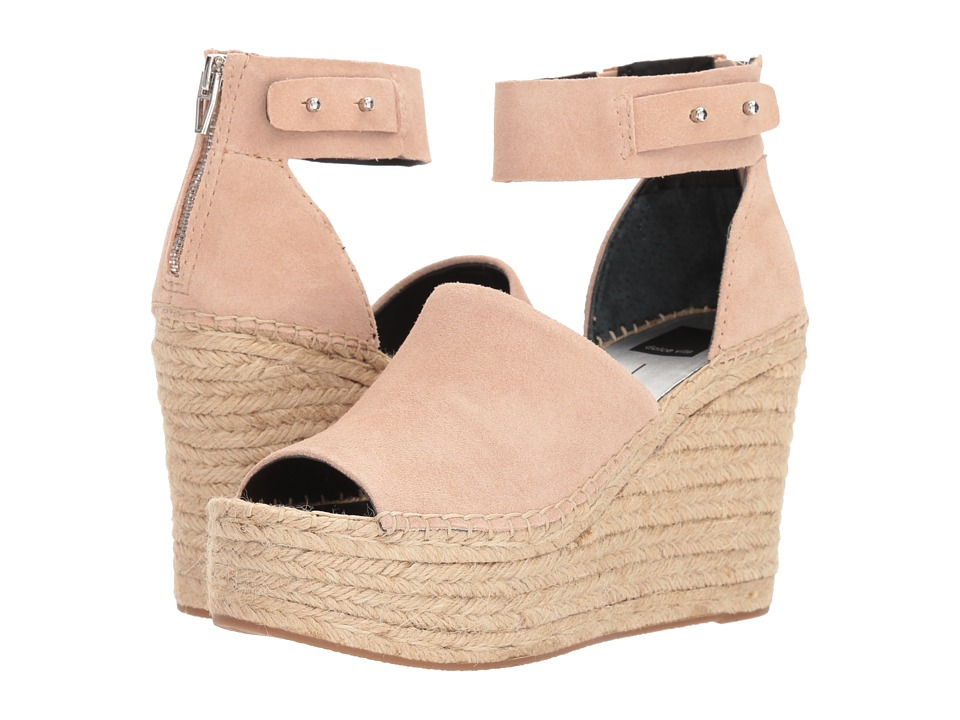 Dolce Vita Straw (Blush Suede) Women's Shoes
