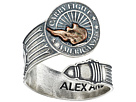 Alex and Ani Liberty Copper Carry Lighttm Spoon Ring
