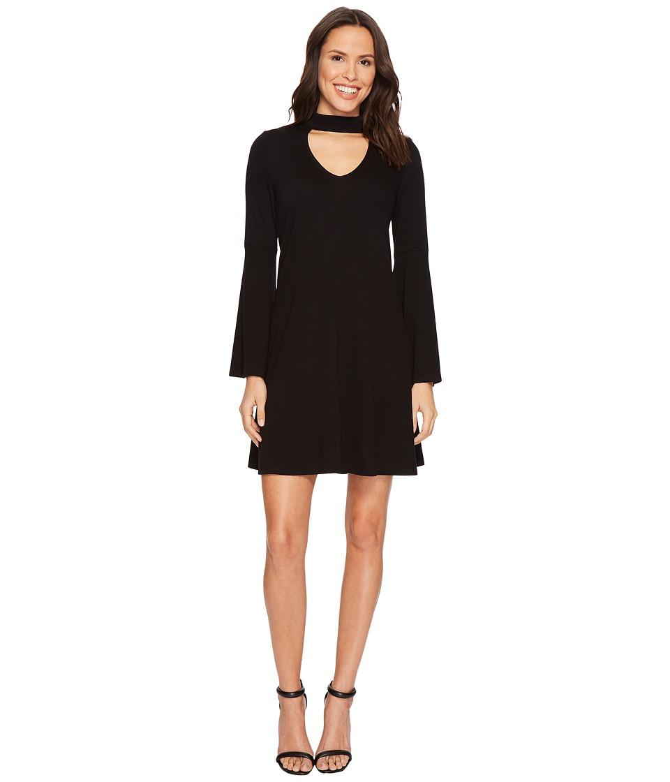 Karen Kane - Mock Neck Taylor Dress