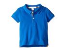 Burberry Kids Palmer Short Sleeve Pique Polo Shirt (Infant/Toddler)