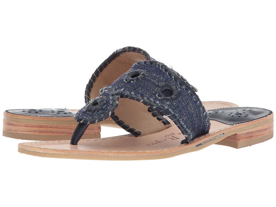 Jack Rogers - Isla (Midnight/Midnight) Women's Sandals