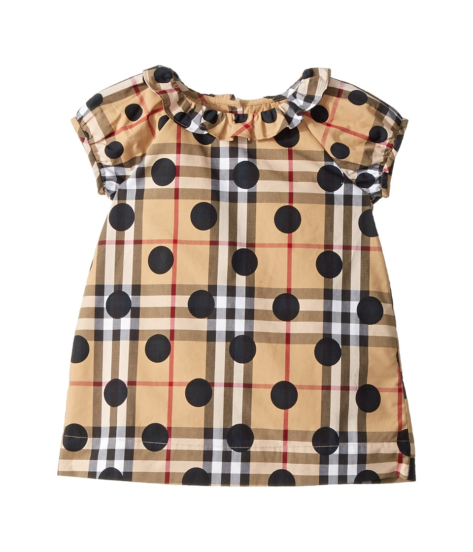 Burberry Kids - Annie Dress (Infant/Toddler) (Navy) Girls Dress