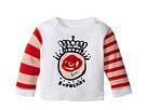 Burberry Kids Mini Rose Stripe Long Sleeve Tee (Infant/Toddler)