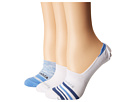 Columbia Space Dye Striped Liner Socks 3-Pack