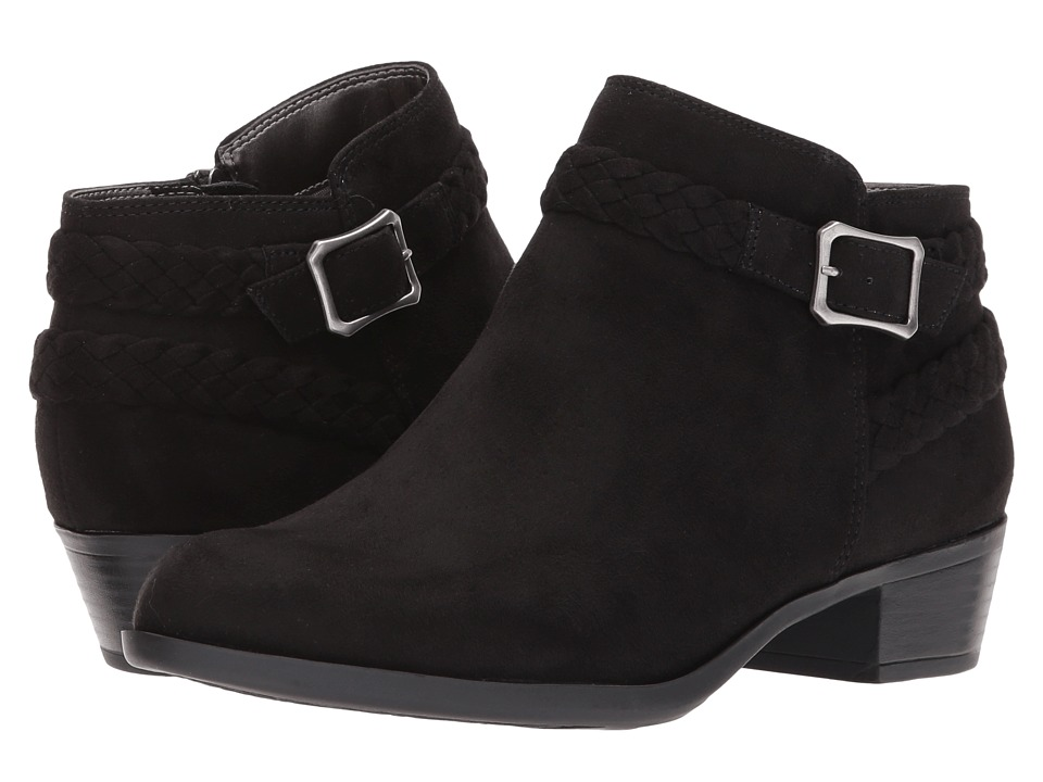 LifeStride Adriana (Black Micro) Women's Shoes