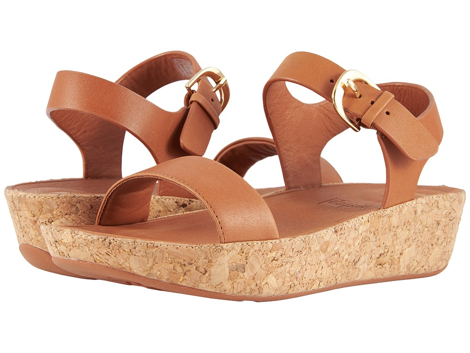 FitFlop - Bon II Back Strap Sandals (Caramel) Womens Sandals
