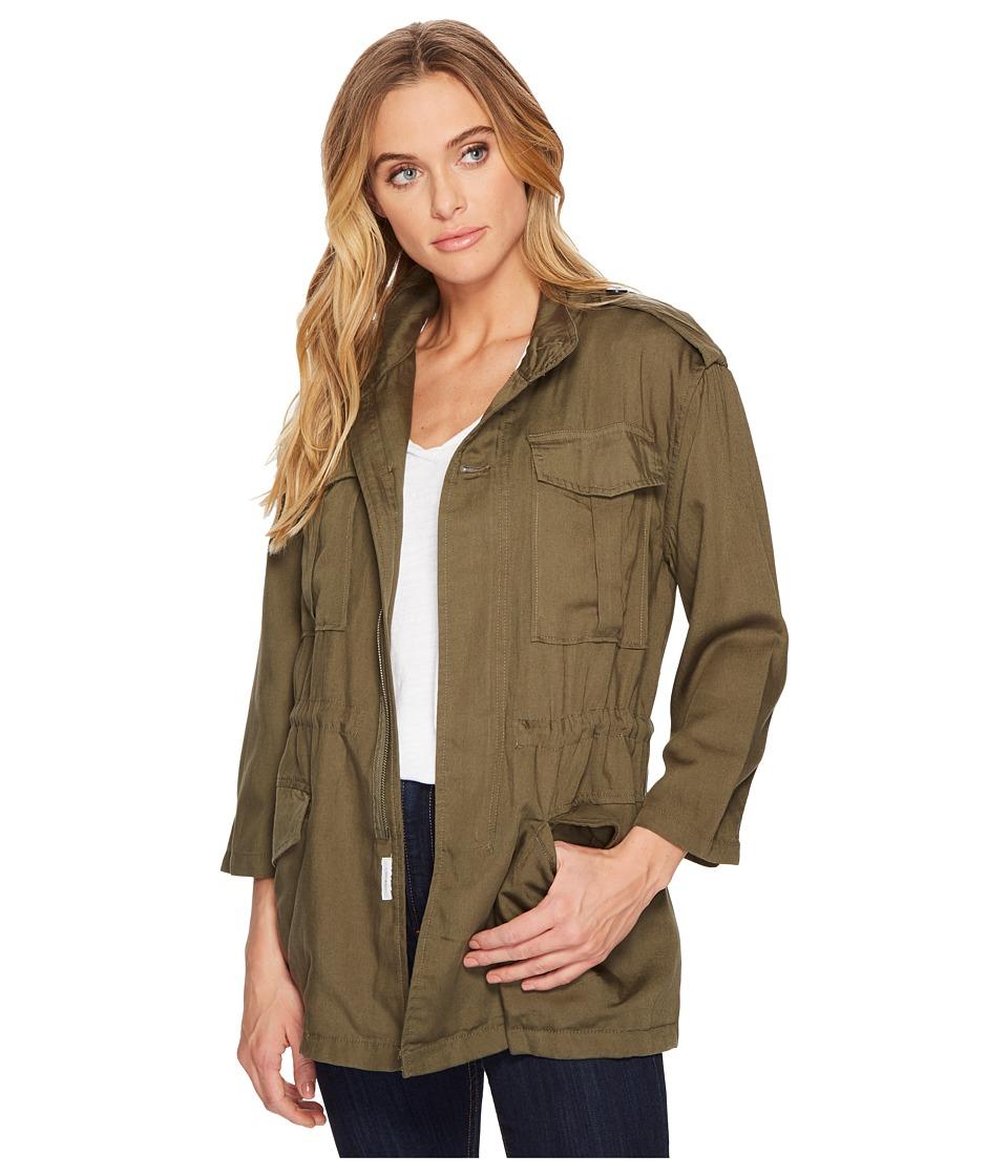 DL1961 Beekman Military Jacket (Military Green) Women's J...