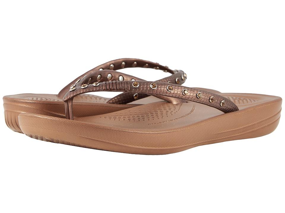 FitFlop Iqushion Ergonomic Flip-Flop (Bronze 1) Sandals