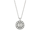Marc Jacobs Marc Jacobs Medallion Double Sided Pendant Necklace