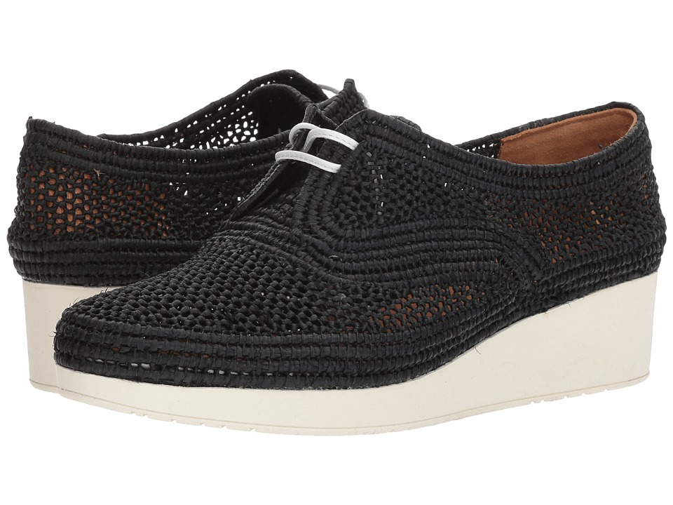 Clergerie Vicoleo (Black Raffia) Women's Shoes