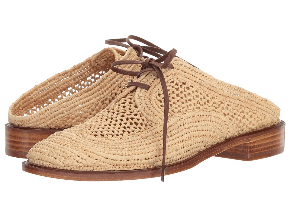 Clergerie Jaly (Natural Raffia) Women's Shoes