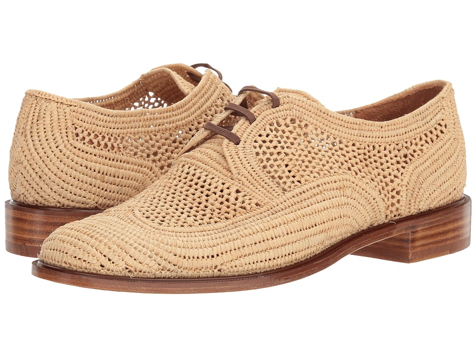 Clergerie Japaille (Natural Raffia) Women's Shoes