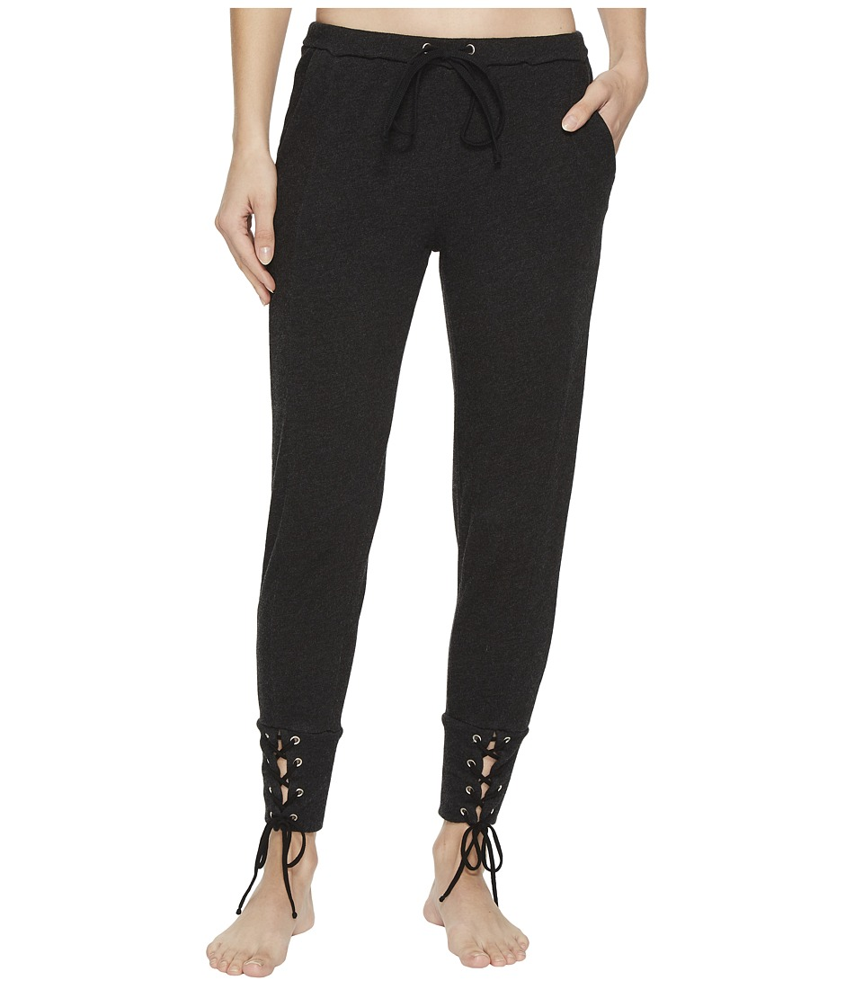 Hard Tail - Fitted Sweatpants with Lace