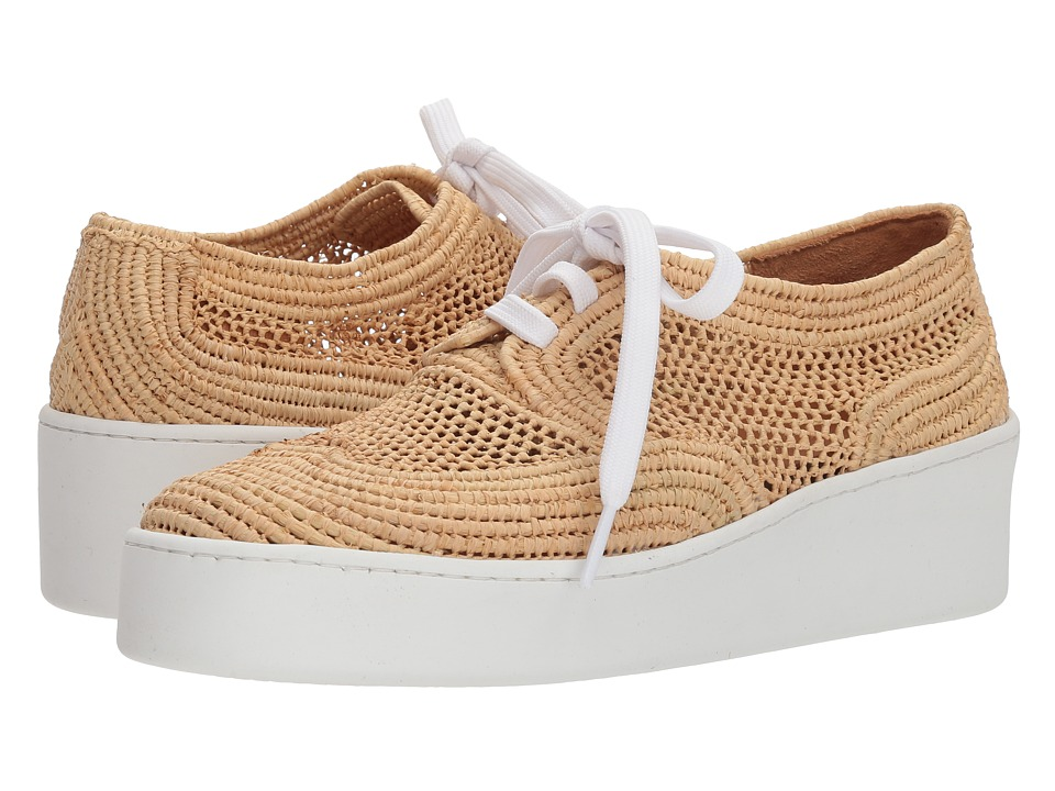Clergerie Taille (Natural Raffia) Women's Shoes