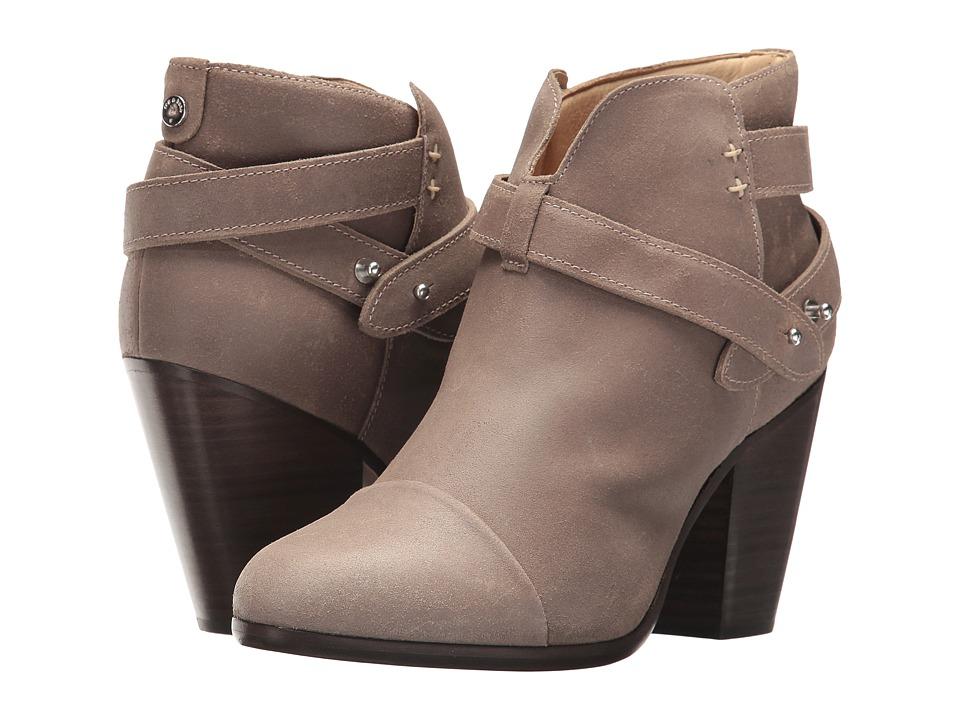 rag & bone Harrow Boot (Stone Waxy Suede) Women