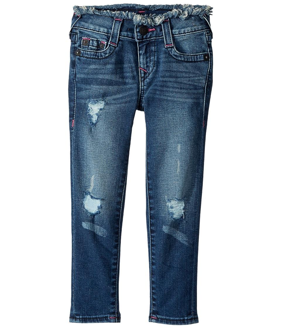 True Religion Kids Casey Skinny Jeans in Vintage Pink (Little Kids) (Vintage Pink) Girl