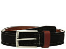 Johnston & Murphy Suede Leather Loop Belt