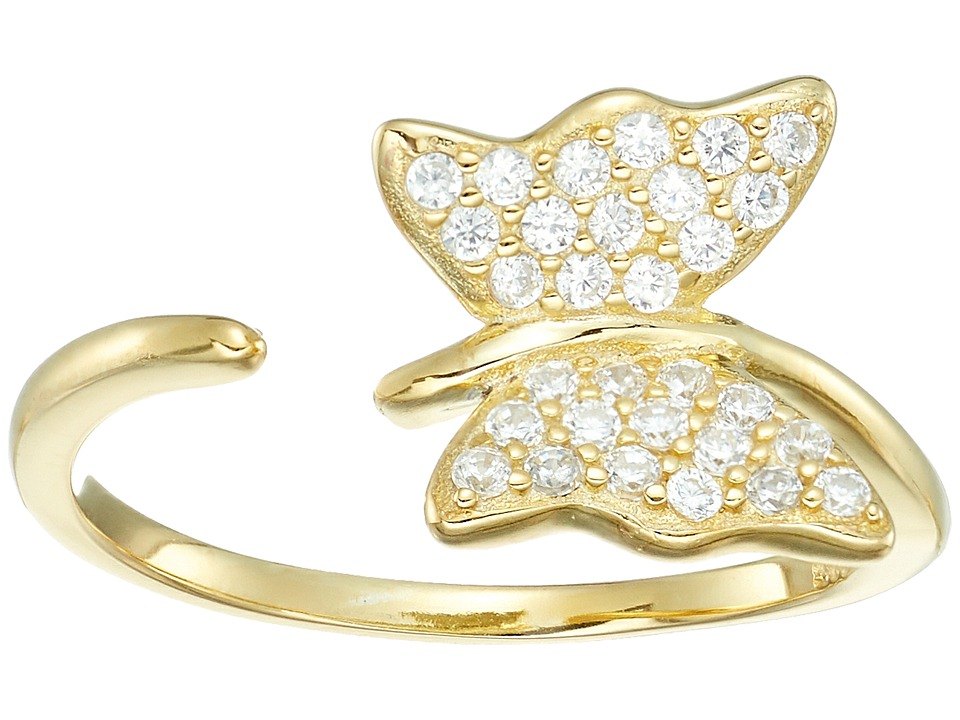Shashi Butterfly Ring (Gold) Ring