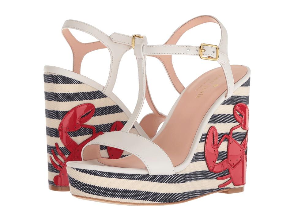 Kate Spade New York Deacon (White Nappa) Women's Shoes