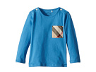 Burberry Kids Burberry Kids Mini Long Sleeve YNG Tee (Infant/Toddler)