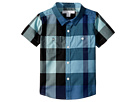 Burberry Kids Burberry Kids Mini Camber Short Sleeve Check Shirt (Infant/Toddler)