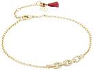 SHASHI Pave Chain Bracelet