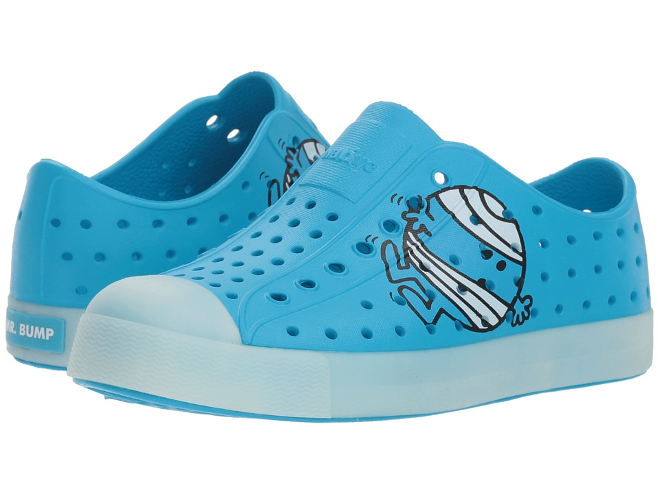 Native Kids Shoes - Jefferson Glow (Little Kid) (Blue Glow) Kids Shoes