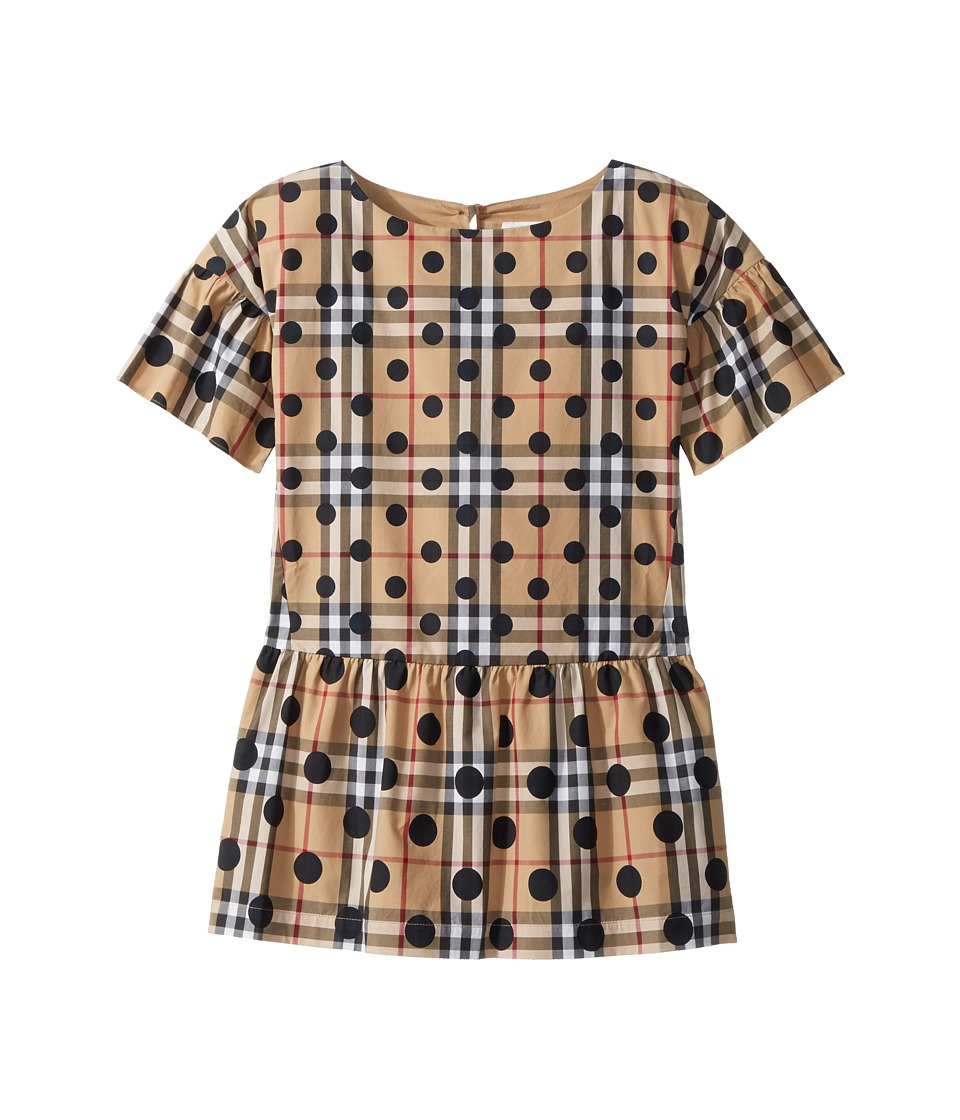 Burberry Kids - Anabella Shift Dress (Little Kids/Big Kids) (Navy) Girls Dress