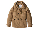 Burberry Kids Margeretta Double Breasted Hooded Trench (Little Kids/Big Kids)