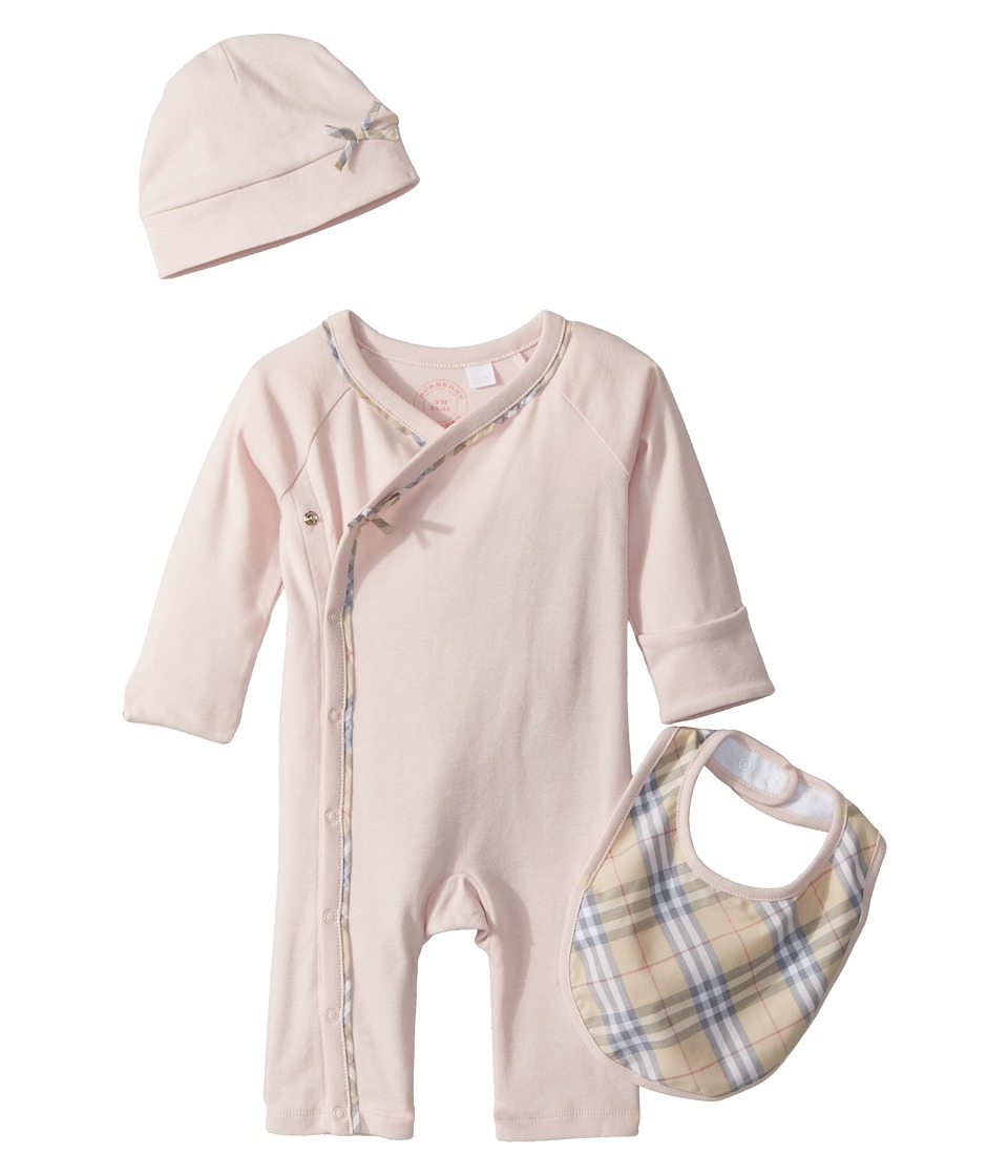 Burberry Kids - Kallie Check Branded Set (Infant) (Powder...