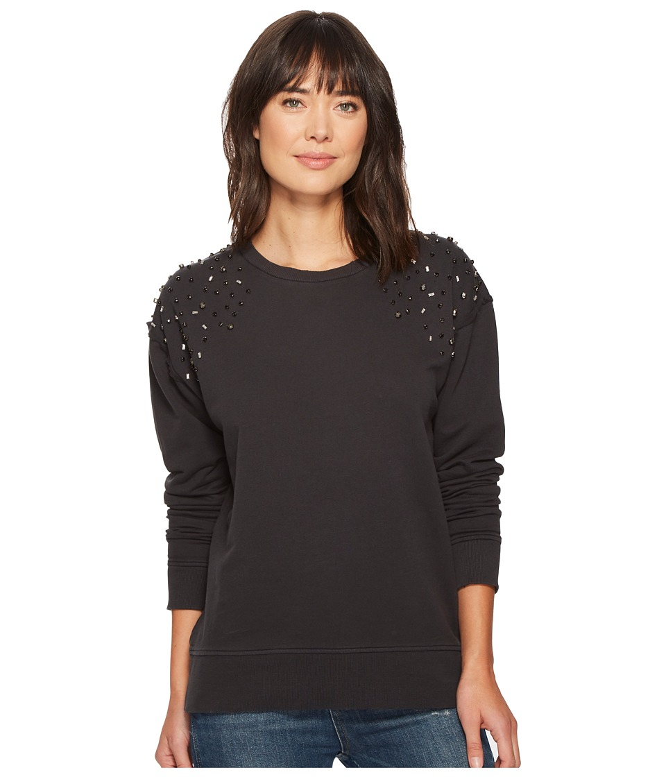 Joe's Jeans - Crystal Sweatshirt (Black) Women's Sweatshirt