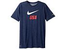 Nike Kids U.S. Dri-FIT Soccer T-Shirt (Little Kids/Big Kids)