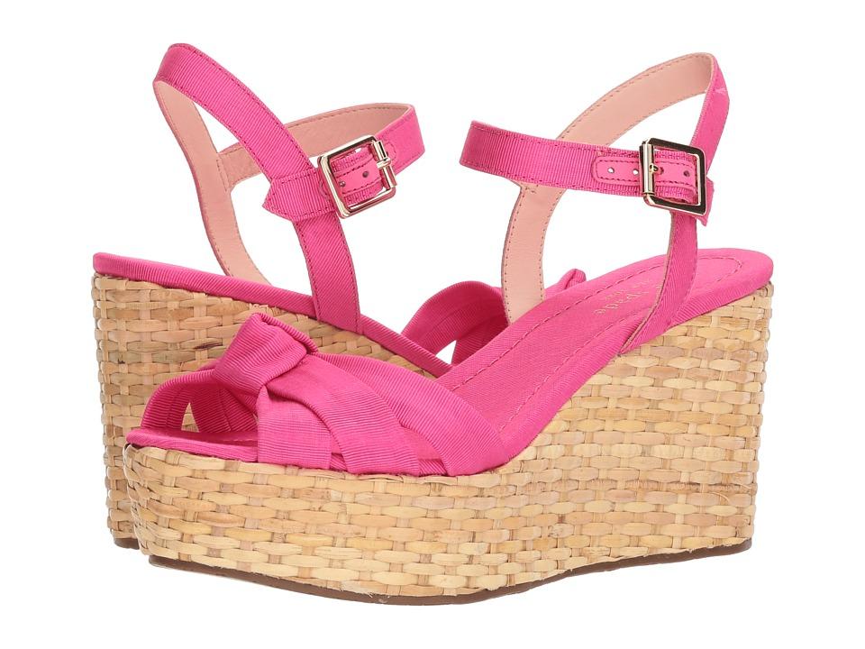 Kate Spade New York Tilly (Pink Grosgrain) Women's Shoes
