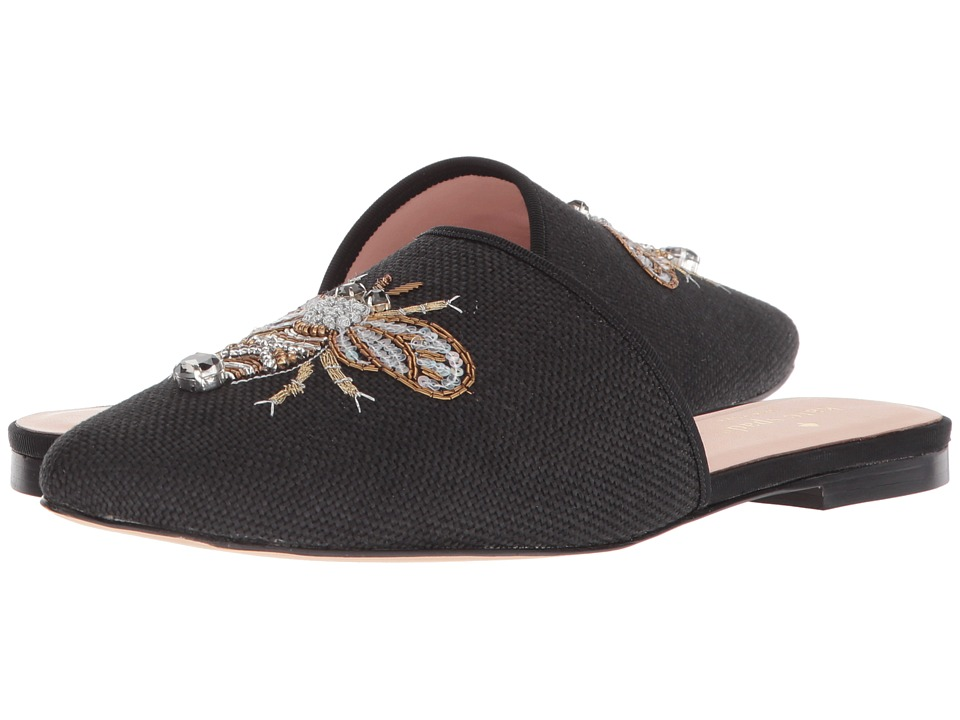 Kate Spade New York Maddie (Black Canvas) Women's Shoes
