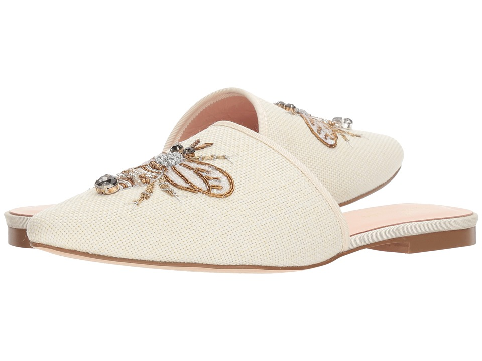 Kate Spade New York Maddie (Light Natural Canvas) Women's Shoes