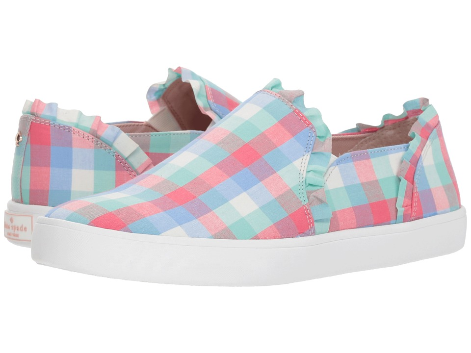 Kate Spade New York Lilly (Multicolor Gingham) Women's Shoes