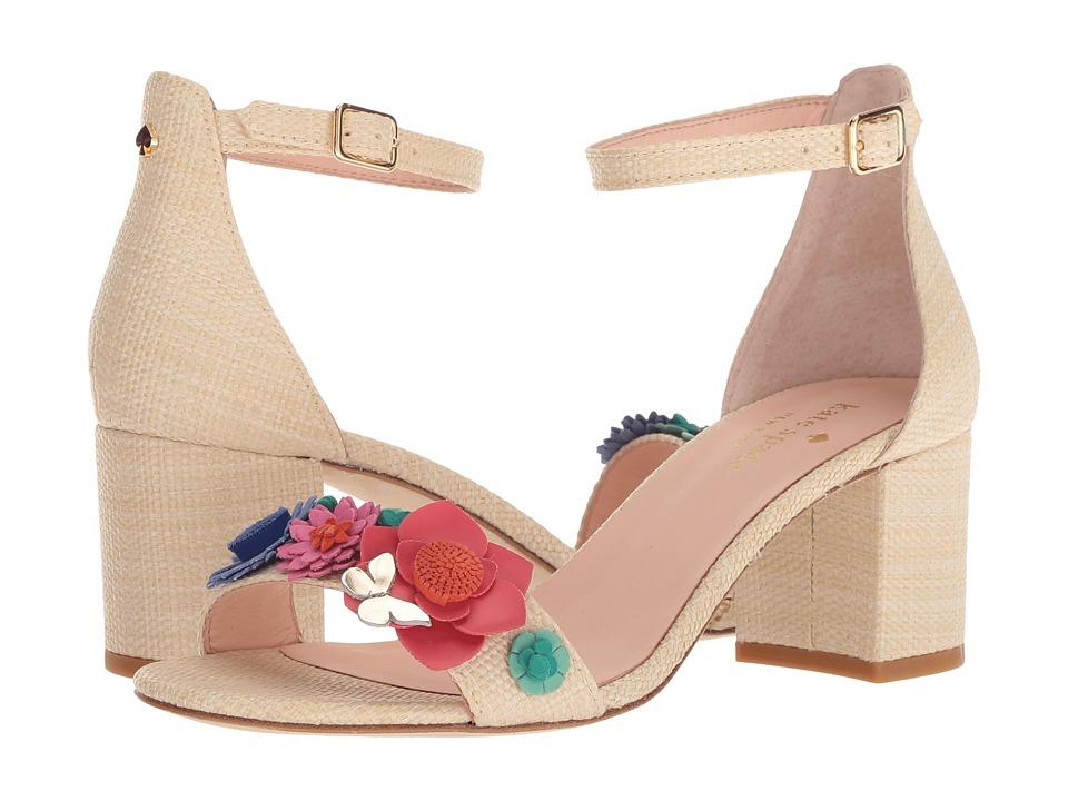 Kate Spade New York Wendy (Light Natural Raffia) Women's Shoes